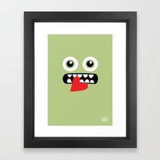 EYE EAT Framed Art Print