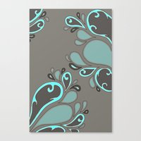 Splash Garden Canvas Print
