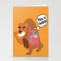 The Food Chain Stationery Cards