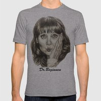 Asha Cuthbert    By Davy… Mens Fitted Tee Athletic Grey SMALL