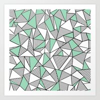 Abstraction Lines With M… Art Print