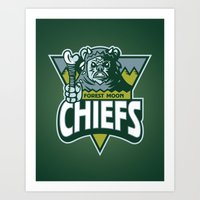 Forest Moon Chiefs - Gre… Art Print
