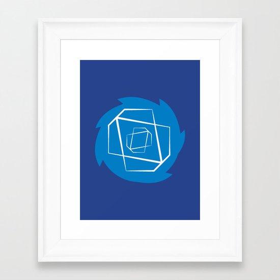Sonic-Dash Framed Art Print