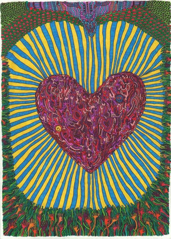 Acid Love Art Print