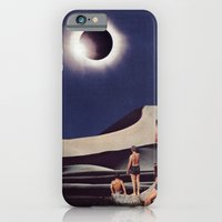 iPhone & iPod Case featuring SOLAR ECLIPSE by Beth Hoeckel Collage & Design