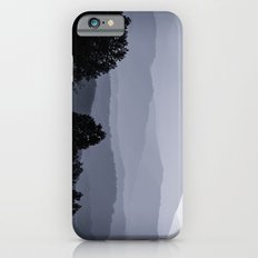 Misty morning at the Smoky's iPhone 6 Slim Case