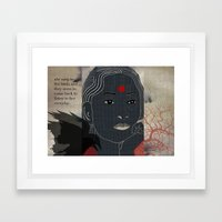 134.b Framed Art Print