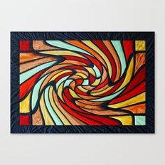 chromatic swirl Canvas Print