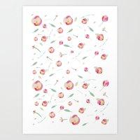 Floral Design Art Print