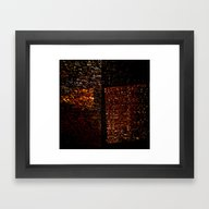 Framed Art Print featuring Abstract Architectonic  by Lo Coco Agostino