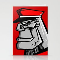 For Russia Stationery Cards