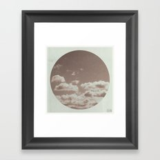 Sky Bound : Three Framed Art Print