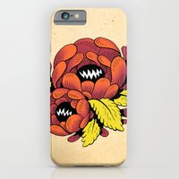 iPhone & iPod Case featuring Grim Blossom by Shelley Barnes