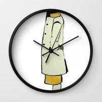 The Coat Wall Clock