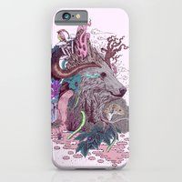 iPhone Cases featuring Forest Warden by Mat Miller