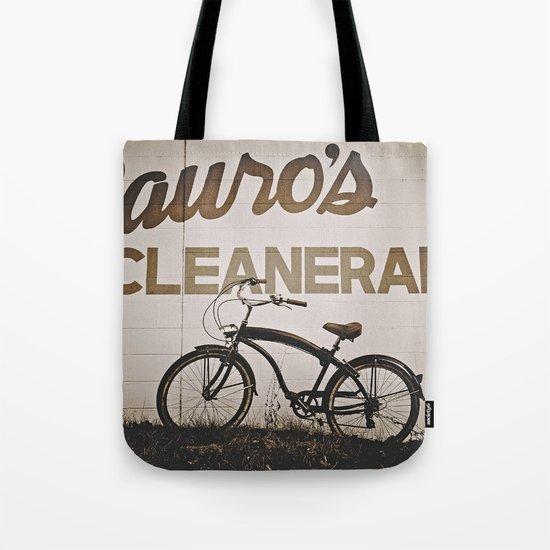Sauro's Cleanerama Tote Bag