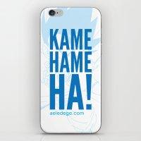 KAME HAME HA! (Light) iPhone & iPod Skin