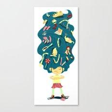 I Hate Combs! Canvas Print