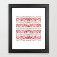 BOHEMIAN SANDIA DYE Framed Art Print