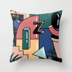 Shape Set no.2 Throw Pillow