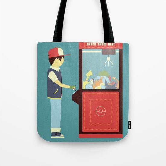 Claw Machine Tote Bag