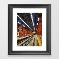 Subway Framed Art Print