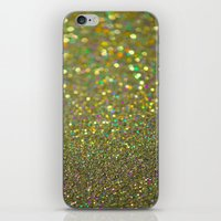 Partytime Gold iPhone & iPod Skin