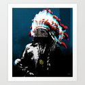 Indian Pop 57 Art Print