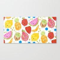 Fruits Print Canvas Print
