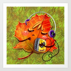fall season Art Print