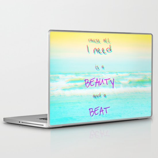 BEACH Laptop & iPad Skin