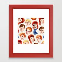 David Framed Art Print