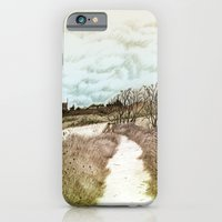 iPhone & iPod Case featuring Crail coastal path: Kingdom of Fife, Scotland [Colour version] by Grant Wilson