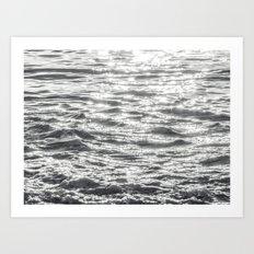 Glittering Early Sunligh… Art Print