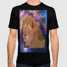 The Lion Is High Mens Fitted Tee Black SMALL