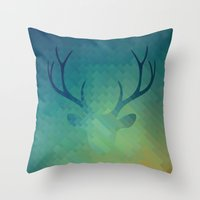 DH1 Throw Pillow