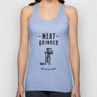 Meat Grinder Unisex Tank Top