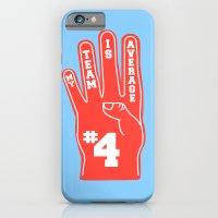 iPhone & iPod Case featuring Foam Finger by Danielle Podeszek