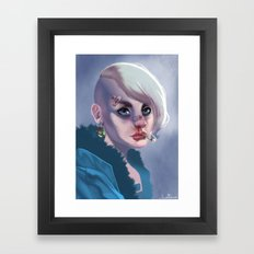 Underdog Framed Art Print