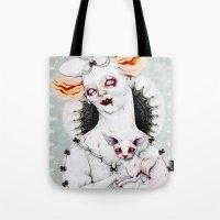 Zombie Queen Tote Bag