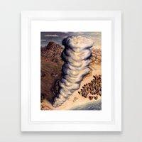 Pillar of Cloud Framed Art Print
