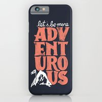 iPhone & iPod Case featuring More Adventurous! by WEAREYAWN