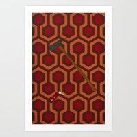The Shining Carpet Art Print