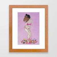 Sue Framed Art Print