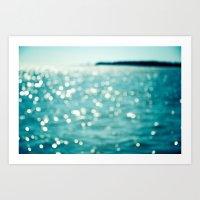 Sea Sparkle Art Print