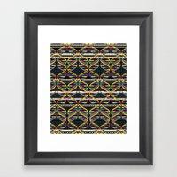 Pattern DNA Framed Art Print