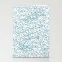 Cool Blue Stationery Cards