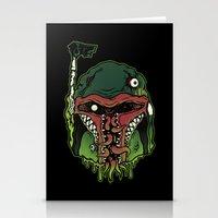 Monster Fett Stationery Cards