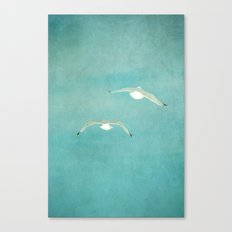 fly to paradise Canvas Print