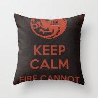 Keep Calm - Game Poster 03 Throw Pillow